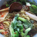 ramen vegetariano cocina japonesa receta de ramen rico facil rapido