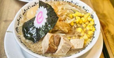 receta de ramen facil dashi mirin soja soya salsa tempura gambas alga nori huevo cocina japonesa coreana
