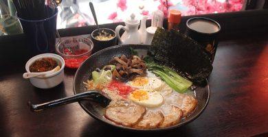receta de ramen casero tonkotsu con beicon y manzana encurtida facil
